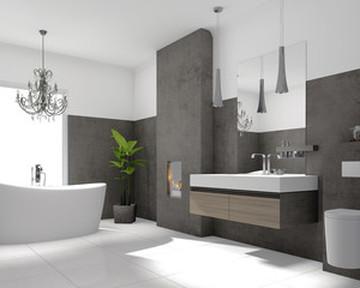 Poser du carrelage dans une salle de bain avec Midi Plâtre Isolation à Cahors